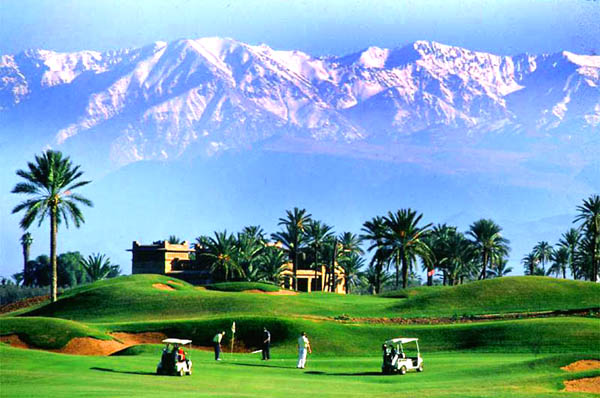 Golf am Atlas